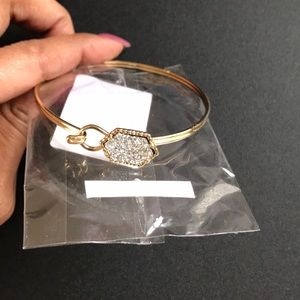 Crystal Gemstone Bangle